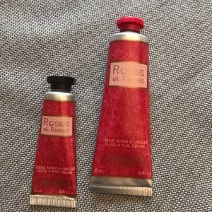 New 2 L'occitane roses hand creams